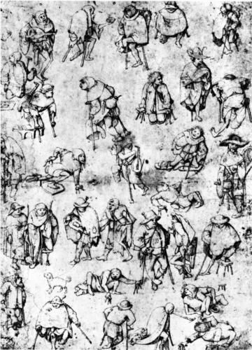 Cripples - Hieronymus Bosch
