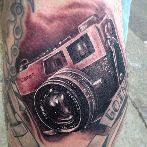 Pin Vintage Camera Tattoos Will Find The Perfect One on Pinterest