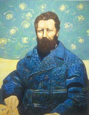 Riel/Van Gogh by Saskatchewan Visual Artist David Garneau