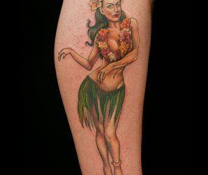 Pinup Tattoo by Sarah Miller