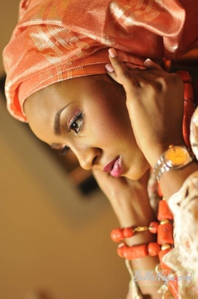 Nigerian weddingPhotos Ideas, Head Wraps, Makeup, African Weddings, African Fashion Style, Nigerian Woman, Bridal Style, Nigerian Weddings, Colors Inspiration