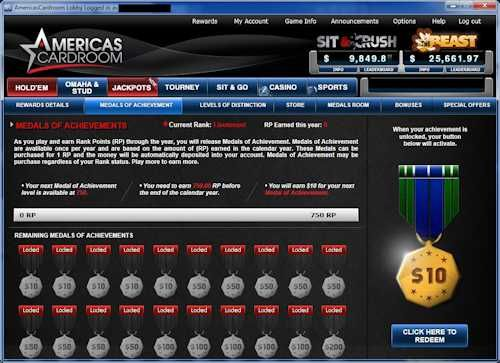 Earn up to $147,000 every year with Americas Cardroom's achievement bonuses!