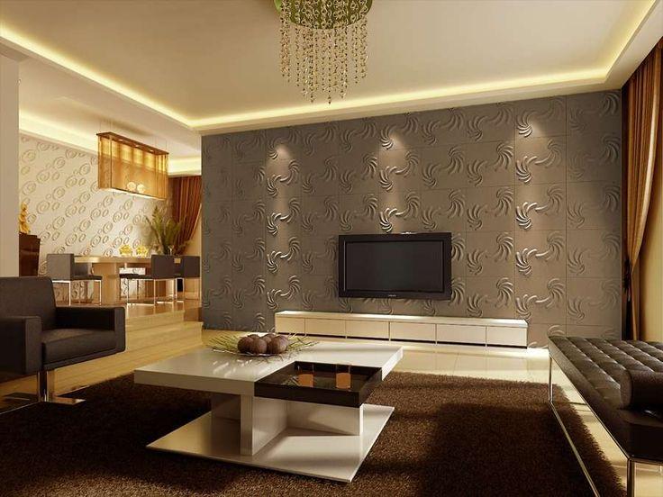 ideen zum wohnzimmer tapezieren in 2020  tapeten