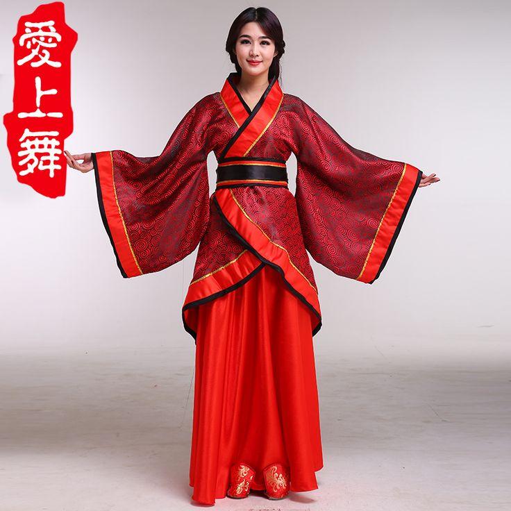 China-Traje Tipico de la Dinastia Han