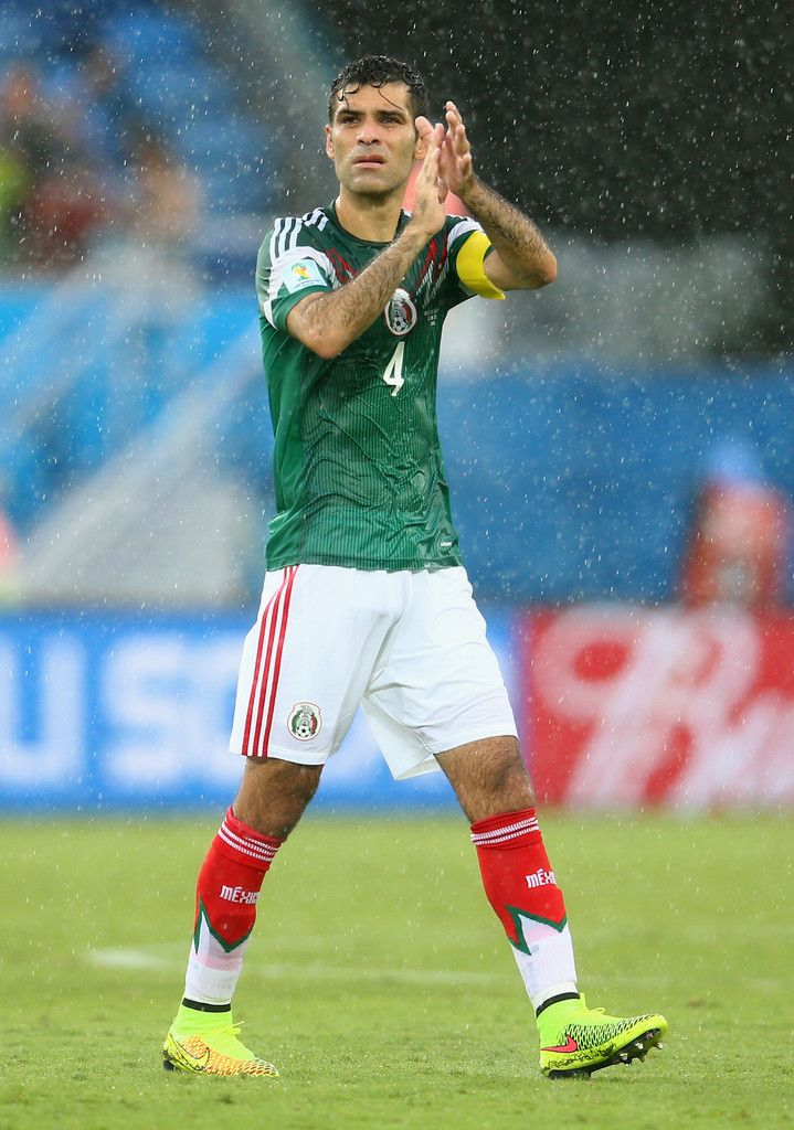 Rafael Marquez of Mexico reacts after the 2014 FIFA World Cup Brazil Group A match between Mexico and Cameroon at Estadio das Dunas on June 13, 2014 in Natal, Brazil.