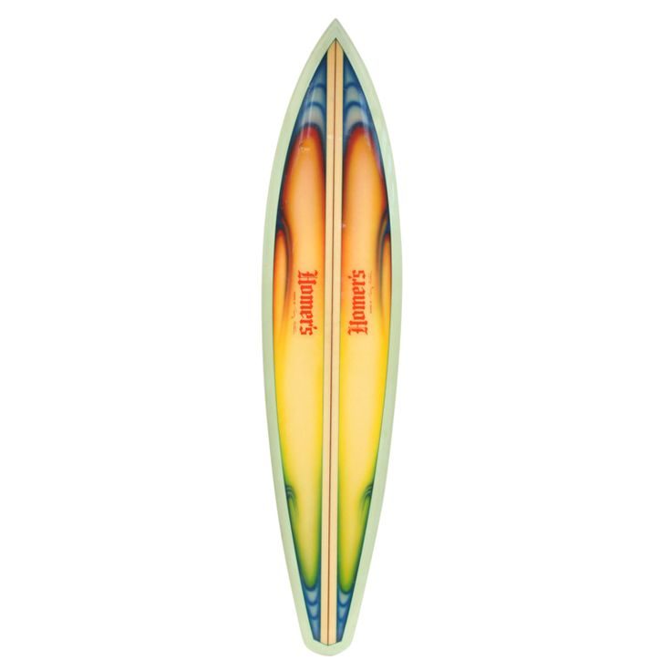 """1970s Terry Martin """"Homer's"""" Airbrushed Surfboard, Surfing Cowboys Venice Beach ... Luv as art"""