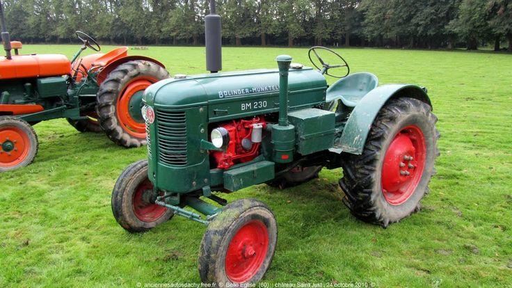 Un tracteur de collection - http://pomme-cidre-tradition.fr/
