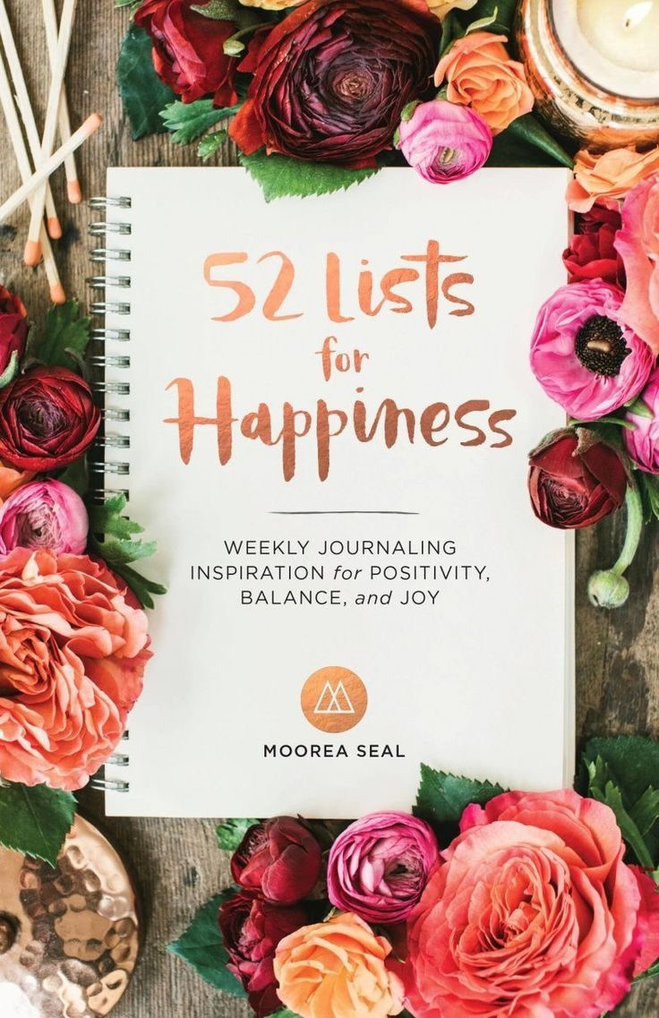 52 Lists for Happiness Review -  a beautiful happiness journal for you to create lists and uunderstanding around what makes you happy #happy  #happiness #happylife #happy#happyplanner #journal #journaling