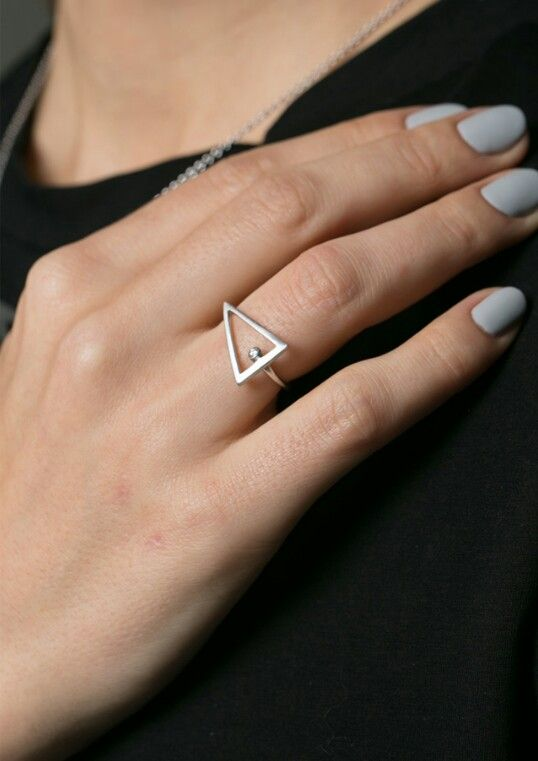 A modern classic - Menkaure Ring, inspired by the ancient Egypt and the stars of the universe.