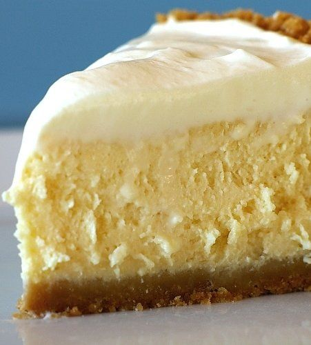 Recipe for Lemon Cheesecake - A quick and easy cheesecake that tastes light and bright; just like spring!