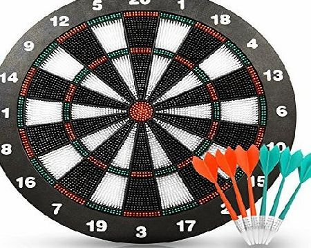 Actiondart   Soft Tip Safety Darts And Dart Board   Great Games For Kids    Leisure