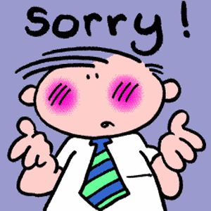 how to tell someone to stop saying sorry