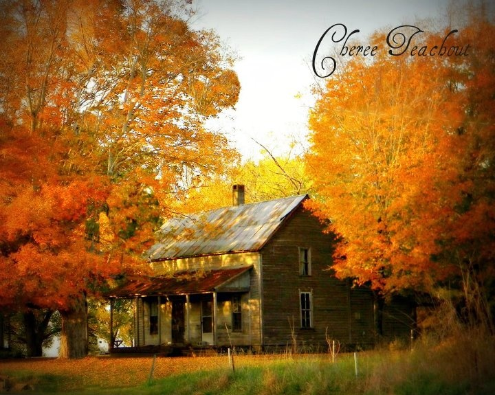 Old farm house Overton County TN .. Fall Colors .. # ...