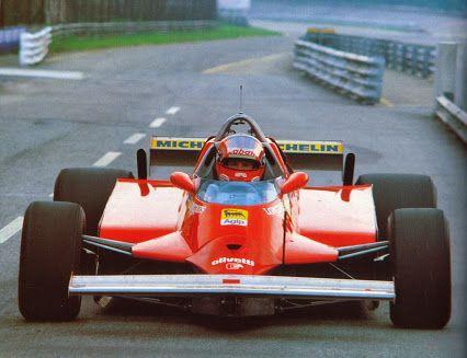 Gilles Villeneuve Test Monza 1981