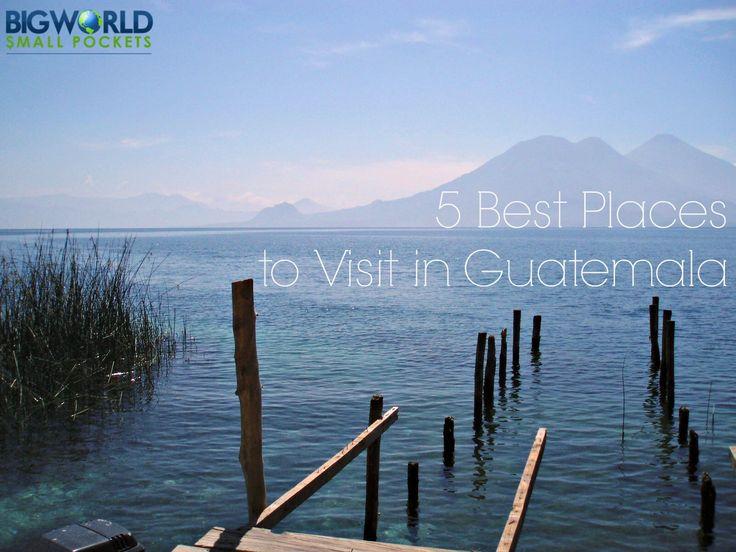 5 Best Tourist Places in Guatemala (inc. Antigua & Tikal) - Big World Small Pockets  : Big World Small Pockets