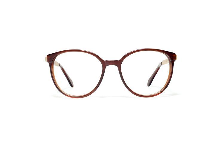 L.G.R sunglasses Mod. KEREN CM brown matt gold