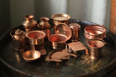 Bhatukali Toy Cooking Vessels Made From Copper Bombay