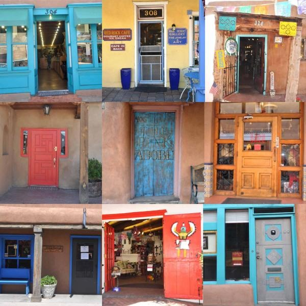 The doors of New Mexico (from my trip to Albuquerque u0026 Santa Fe recently) & 107 best Doors of New Mexico images on Pinterest | Windows Entryway ...