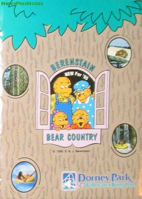 The Berenstain Bears Bear Country at Dorney Park in Pennsylvania