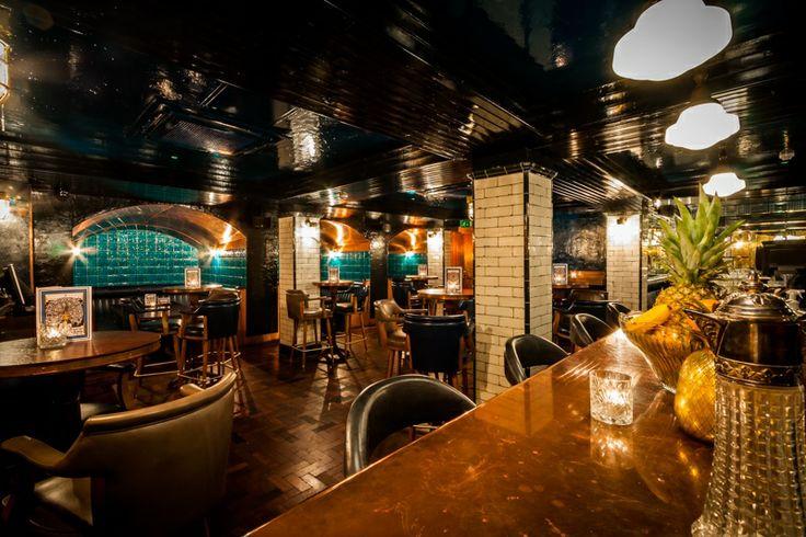Hawksmoor bar.