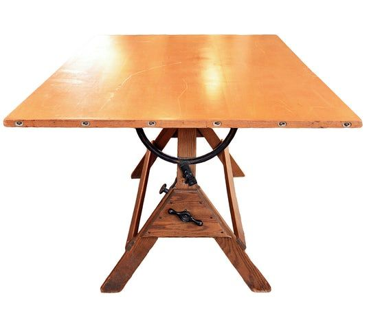 Hamilton Drafting Table  Industrial, MidCentury Modern, Traditional, Metal, Wood, Desks  Writing Table by Architectural Antiques
