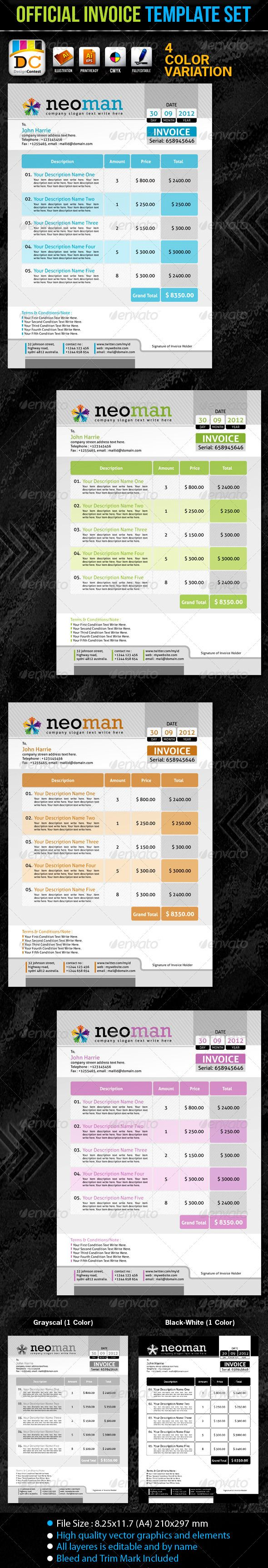 Crv Invoice Word The  Best Invoice Template Ideas On Pinterest  Invoice Layout  Receipt Paper For Star Tsp100 Excel with Word 2003 Invoice Template Neomanofficial Invoice Template Set Open Office Template Invoice Word