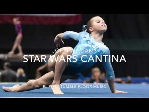Star Wars Cantina Gymnastics Floor Music (Cute Upbeat) - YouTube