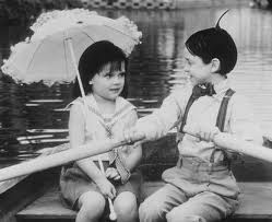 DAY 5- A SONG THAT GETS STUCK IN YOUR HEAD:  You Are So Beautiful, Alfalfa singing to Darla on The Little Rascals