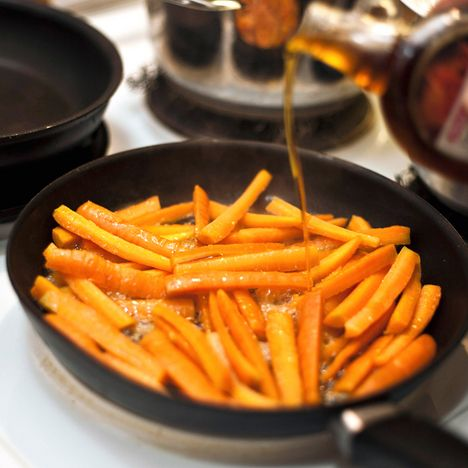 Hunajaiset porkkanatikut