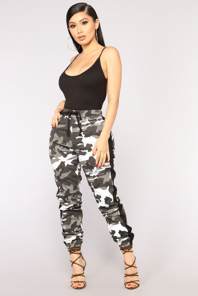 7ab537208b9ed Cadet Kasey Cargo Joggers - Grey in 2019 | Fashion Nova | Pants | Camo pants  outfit, Camo pants, Fashion nova pants