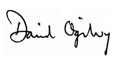 Via @jubaloo_ : David Ogilvy's signature