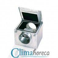Ventilator centrifugal acustic 3500 m3/h cafenea club hotel restaurant CAB 400 destinat Horeca