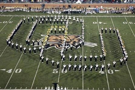 Proud to be in the marching 110! The music of Ohio University