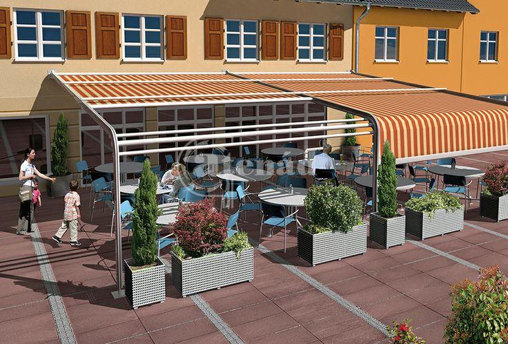 Terrace shutter by Varisol