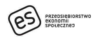 Logo es. Pełna wersja z logotypem.