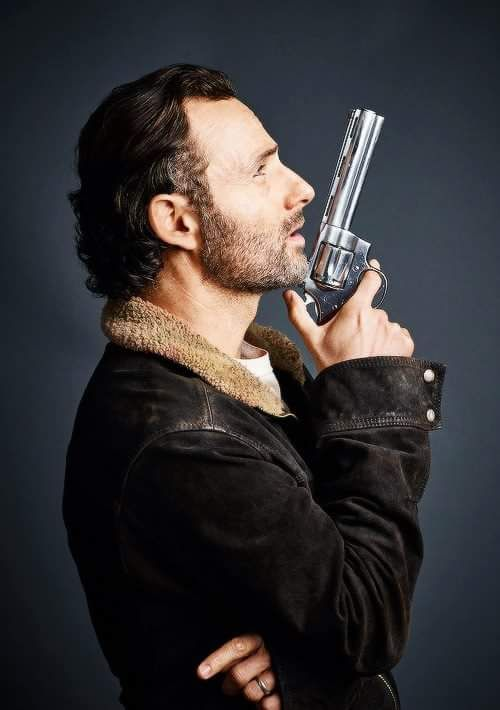 Andrew Lincoln as Rick Grimes from 'The Walking Dead'.