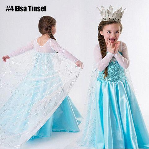 Frozen-Inspired Queen Elsa or Anna Dress