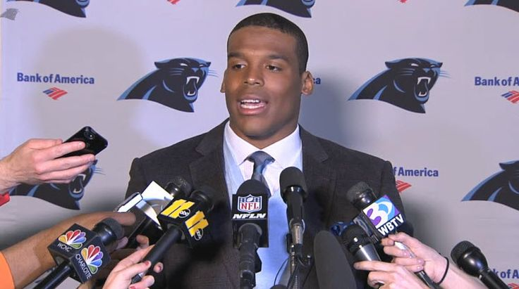 Cam Newton press conference. Shop MADE Cam Newton!