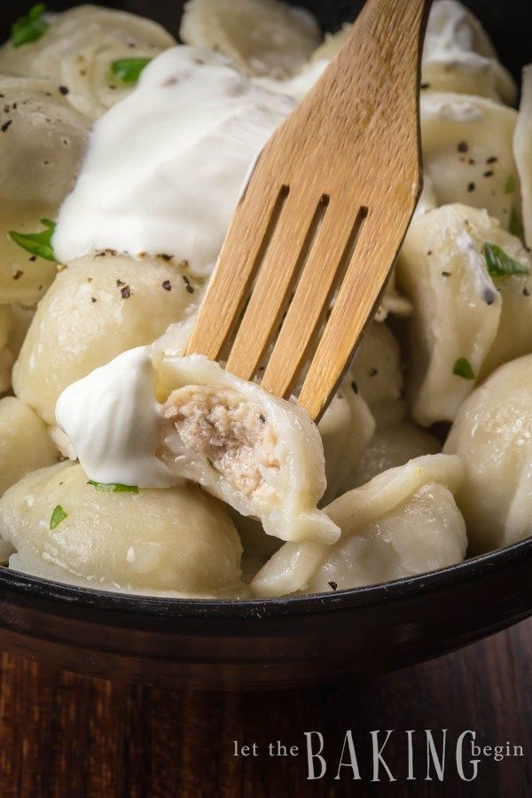 Easy And Delicious Pelmeni Recipe These Russian Dumplings Have A Ground Chicken Filling Perfect For Dinner Dumpling Recipe Russian Dumplings Pelmeni Recipe