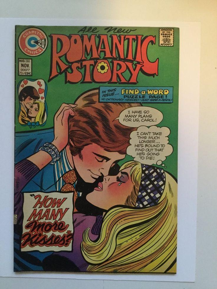 Romantic Story rare comic book 1970s
