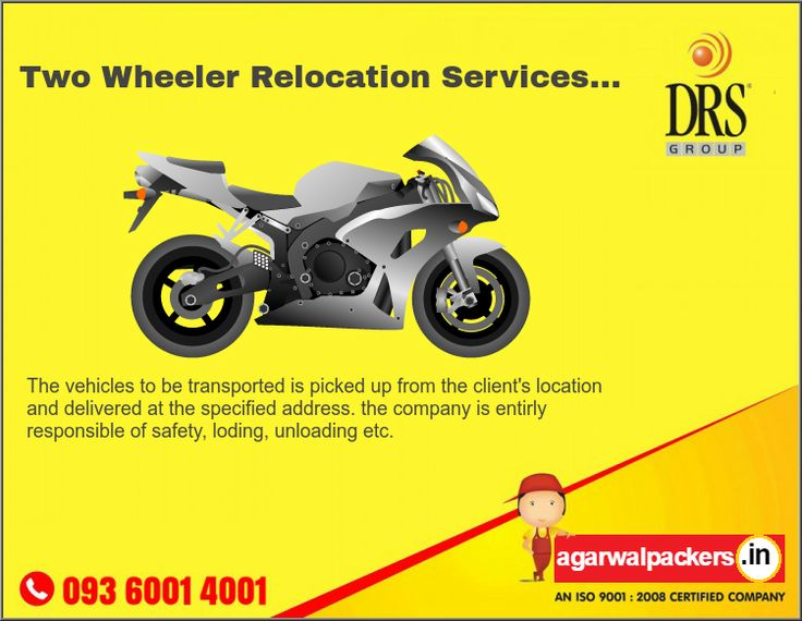 Two wheeler relocation? Call us now! Our website: http://goo.gl/87wUPk   The Vehicles to be transported is picked up from the client's location and delivered at the specified address. the company is entirly responsible of safety, Loding, Unloading etc. Just give a call us now at 9360014001   #LimcaBookOfRecords #LimcaBook #AGARWALPACKERSANDMOVERS #Agarwal #packers #movers #drsgroup #Largestmovers #bestpackersandmovers #india #SafeRelocation #Household #Transportation #Relocation #Shifting…