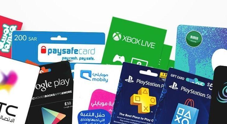 تطبيق لايك كارد لشراء بطاقات آيتونز وقوقل بلاي وبطاقات شحن اتصالات وماستر كارد افتراضية Gift Card Cards Xbox Live