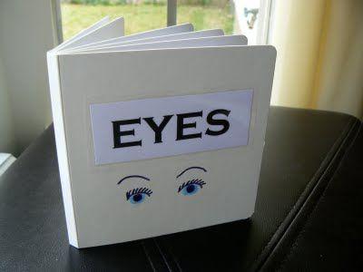 Having Fun at Home: Homemade Baby Book: Eyes