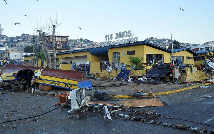ANTES y DESPUÉS del terremoto: Coquimbo | Emol Fotos