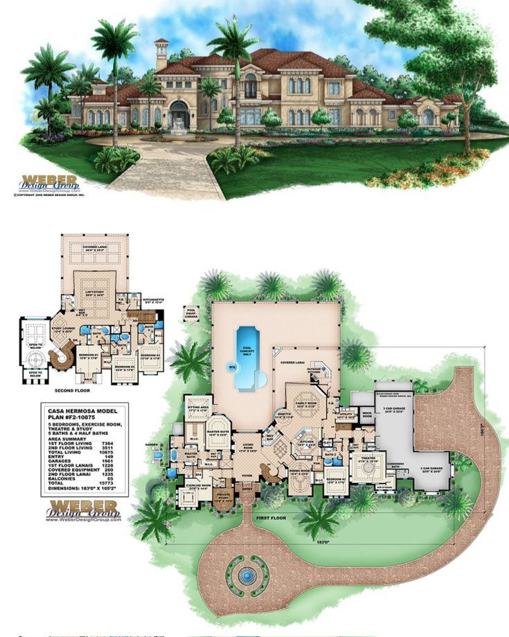 Mediterranean House Plan Mediterranean Tuscan Mansion Floor Plan Mansion Floor Plan House Plans Mansion Luxury House Plans