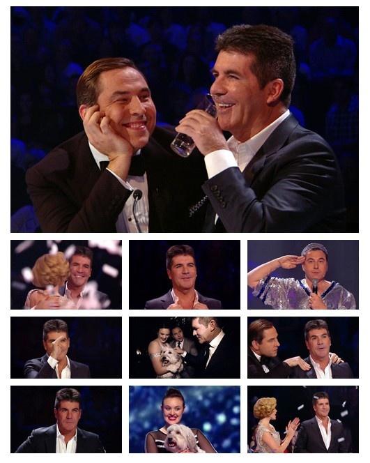 Simon Cowell, David Walliams, Amanda Holden - Britain's Got Talent Final 2012