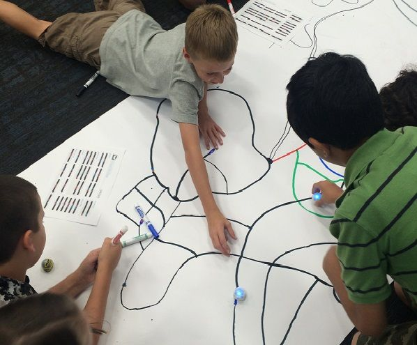 I love robotics programs for kids. I am trying to bring as many robots into the library as I can. The first robot program I have had the opportunity to offer is Ozobots. Ozobots are 1-inch size ass…