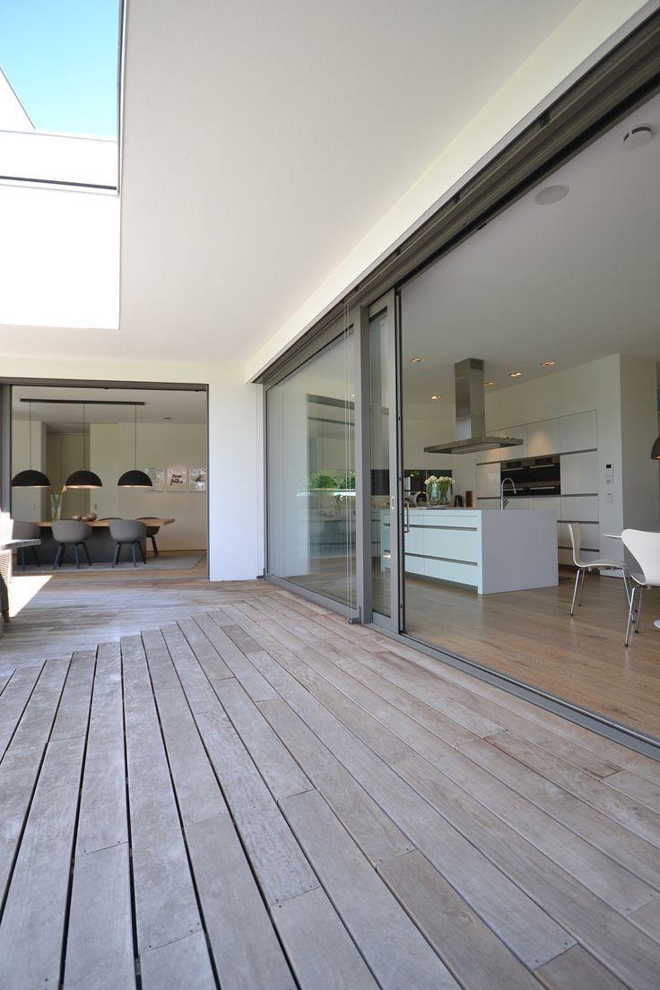 THE DECK, L-SHAPE, betonska nadstrešnica  Bünck Architektur :: bergisch gladbach – Hausgarten Design