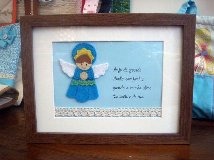 oração anjo da guarda (azul)