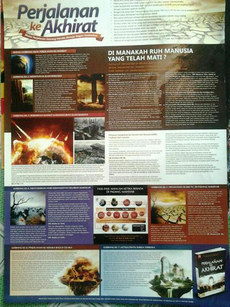Seri Ensiklopedia Islam. Perjalanan ke Akhirat.